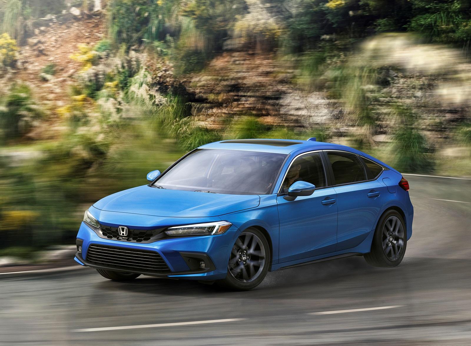 2022 Honda Civic Hatchback Front Three-Quarter Wallpapers (1)