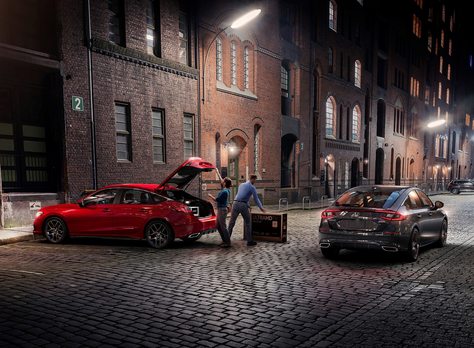 2022 Honda Civic Hatchback Wallpapers (5)