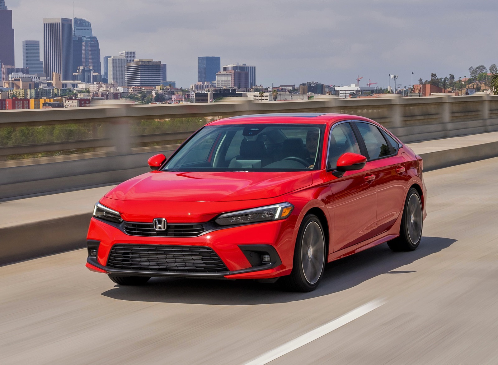 2022 Honda Civic Sedan Touring Front Three-Quarter Wallpapers (1)