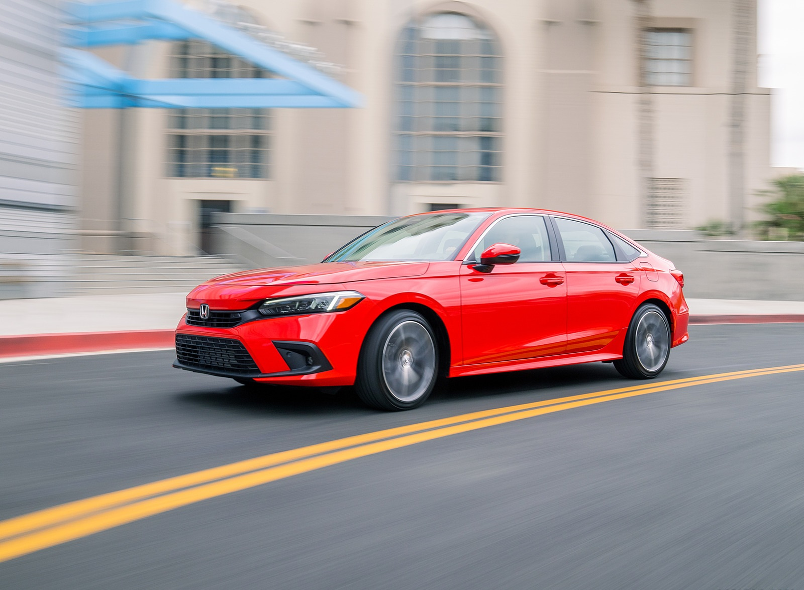 2022 Honda Civic Sedan Touring Front Three-Quarter Wallpapers (4)