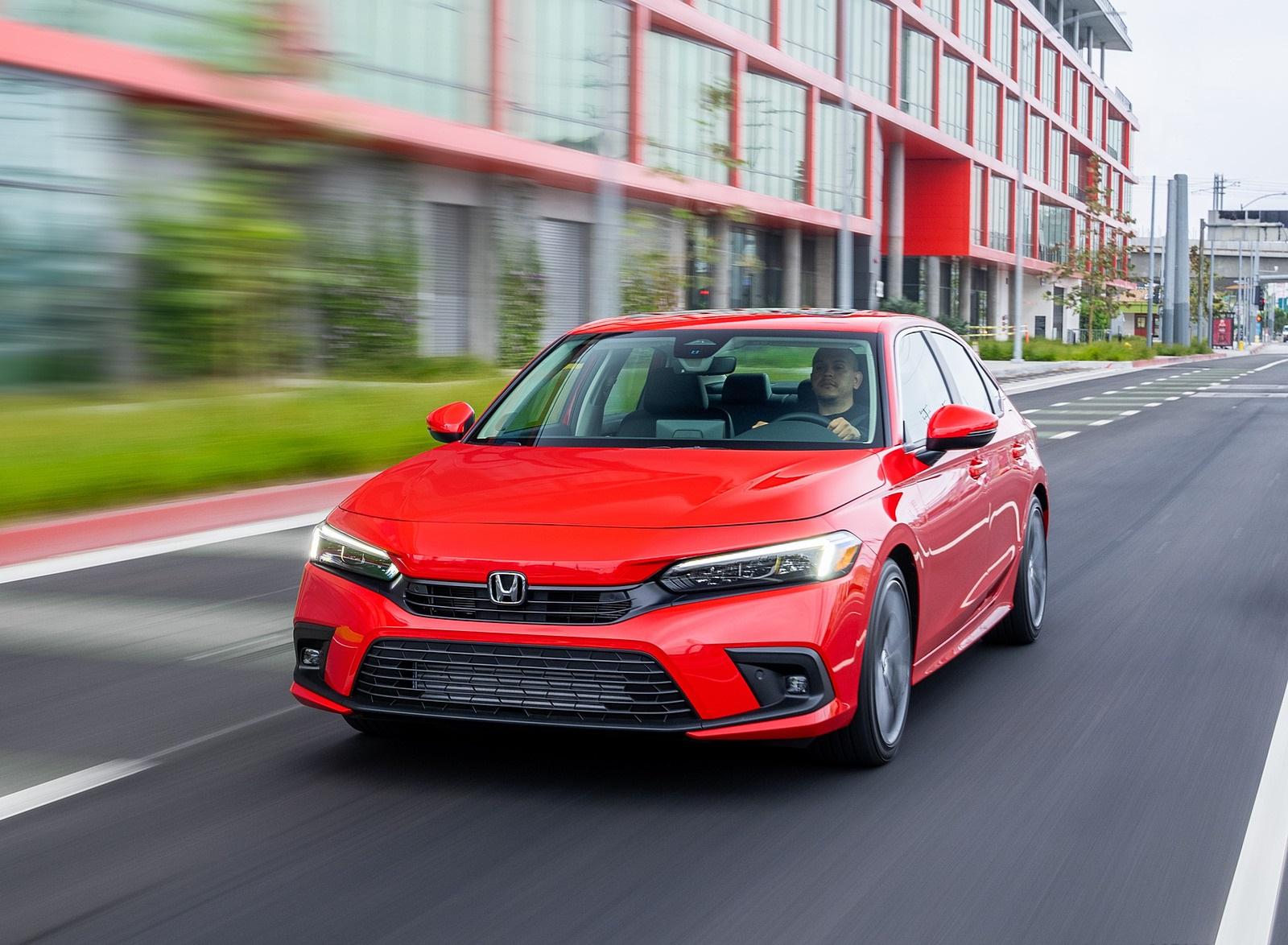 2022 Honda Civic Sedan Touring Front Wallpapers (2)