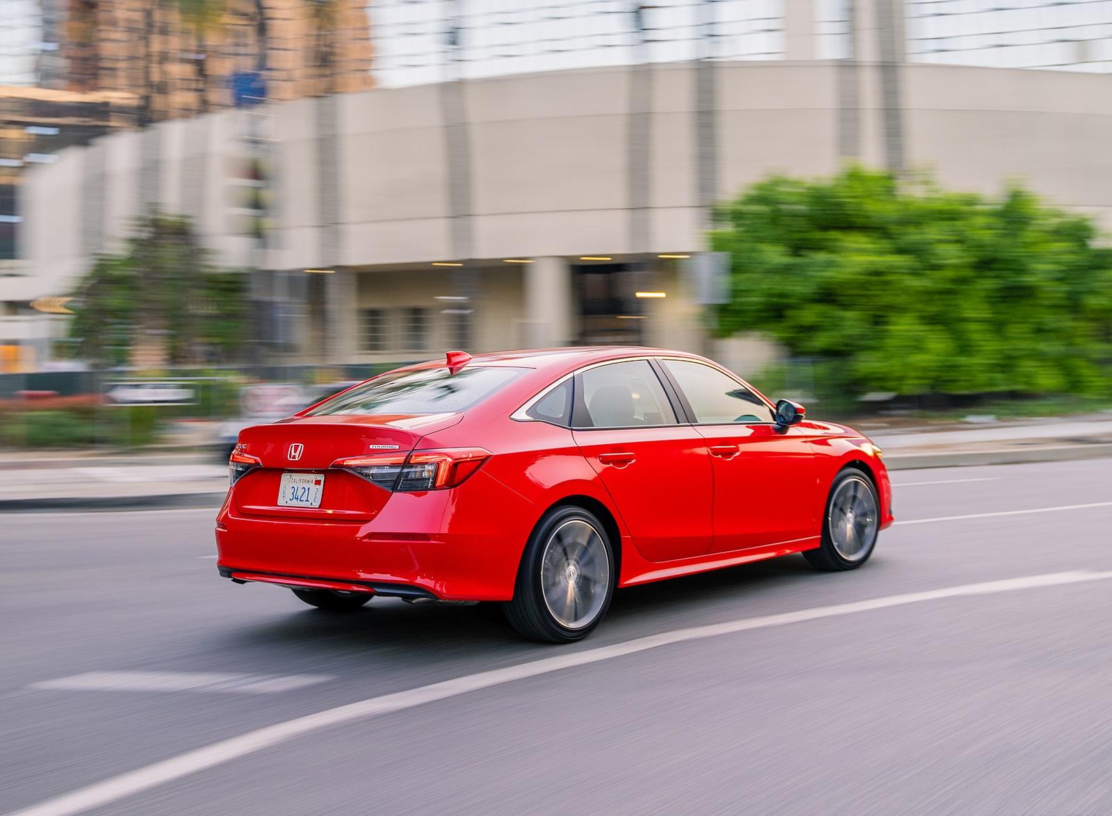 2022 Honda Civic Sedan Touring Rear Three-Quarter Wallpapers (8)