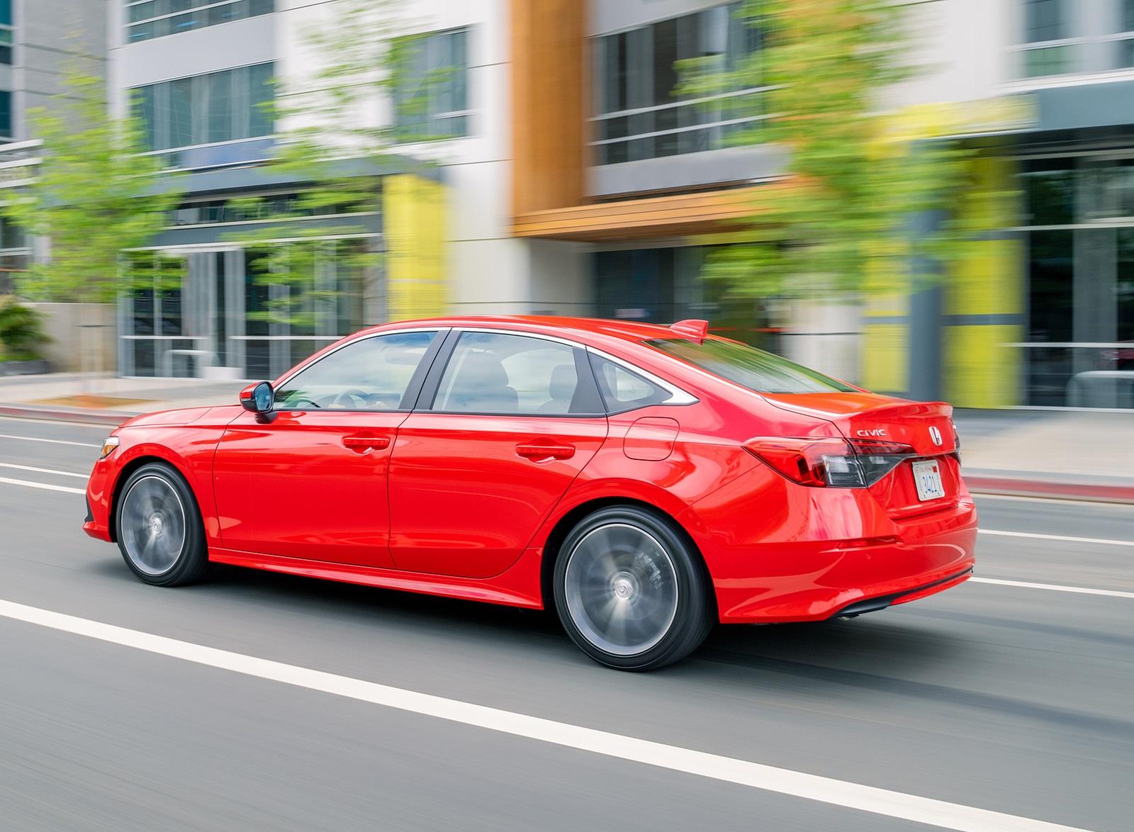 2022 Honda Civic Sedan Touring Rear Three-Quarter Wallpapers (5)