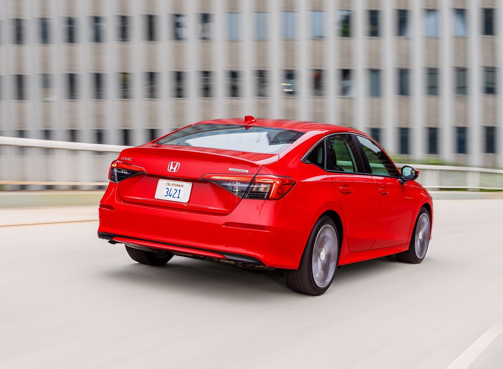 2022 Honda Civic Sedan Touring Rear Wallpapers (7)
