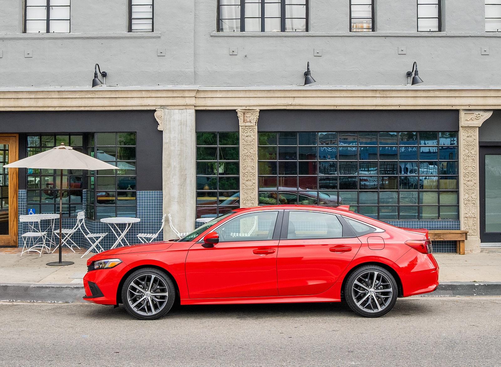 2022 Honda Civic Sedan Touring Side Wallpapers (10)