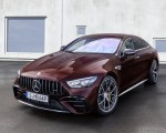 2022 Mercedes-AMG GT 53 4MATIC+ 4-Door Coupe (Color: Rubellite Red) Front Three-Quarter Wallpapers 150x120 (5)