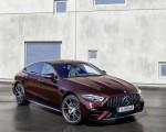 2022 Mercedes-AMG GT 53 4MATIC+ 4-Door Coupe (Color: Rubellite Red) Front Three-Quarter Wallpapers 150x120 (9)