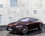 2022 Mercedes-AMG GT 53 4MATIC+ 4-Door Coupe (Color: Rubellite Red) Front Three-Quarter Wallpapers 150x120 (6)