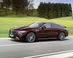 2022 Mercedes-AMG GT 53 4MATIC+ 4-Door Coupe (Color: Rubellite Red) Front Three-Quarter Wallpapers 150x120 (3)