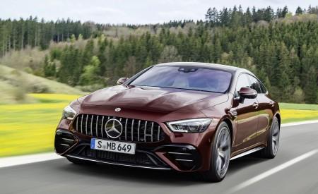 2022 Mercedes-AMG GT 53 4-Door Coupe Wallpapers HD