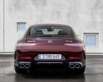2022 Mercedes-AMG GT 53 4MATIC+ 4-Door Coupe (Color: Rubellite Red) Rear Wallpapers 150x120 (11)