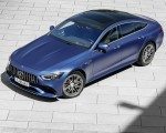 2022 Mercedes-AMG GT 53 4MATIC+ 4-Door Coupe (Color: Spectrale Blue Magno) Front Three-Quarter Wallpapers 150x120 (26)