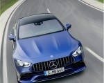 2022 Mercedes-AMG GT 53 4MATIC+ 4-Door Coupe (Color: Spectrale Blue Magno) Front Wallpapers 150x120 (19)