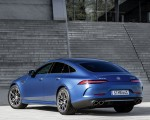 2022 Mercedes-AMG GT 53 4MATIC+ 4-Door Coupe (Color: Spectrale Blue Magno) Rear Three-Quarter Wallpapers 150x120 (25)