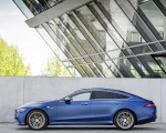 2022 Mercedes-AMG GT 53 4MATIC+ 4-Door Coupe (Color: Spectrale Blue Magno) Side Wallpapers 150x120 (23)