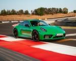 2022 Porsche 911 Carrera GTS (Color: Python Green) Front Three-Quarter Wallpapers 150x120 (44)