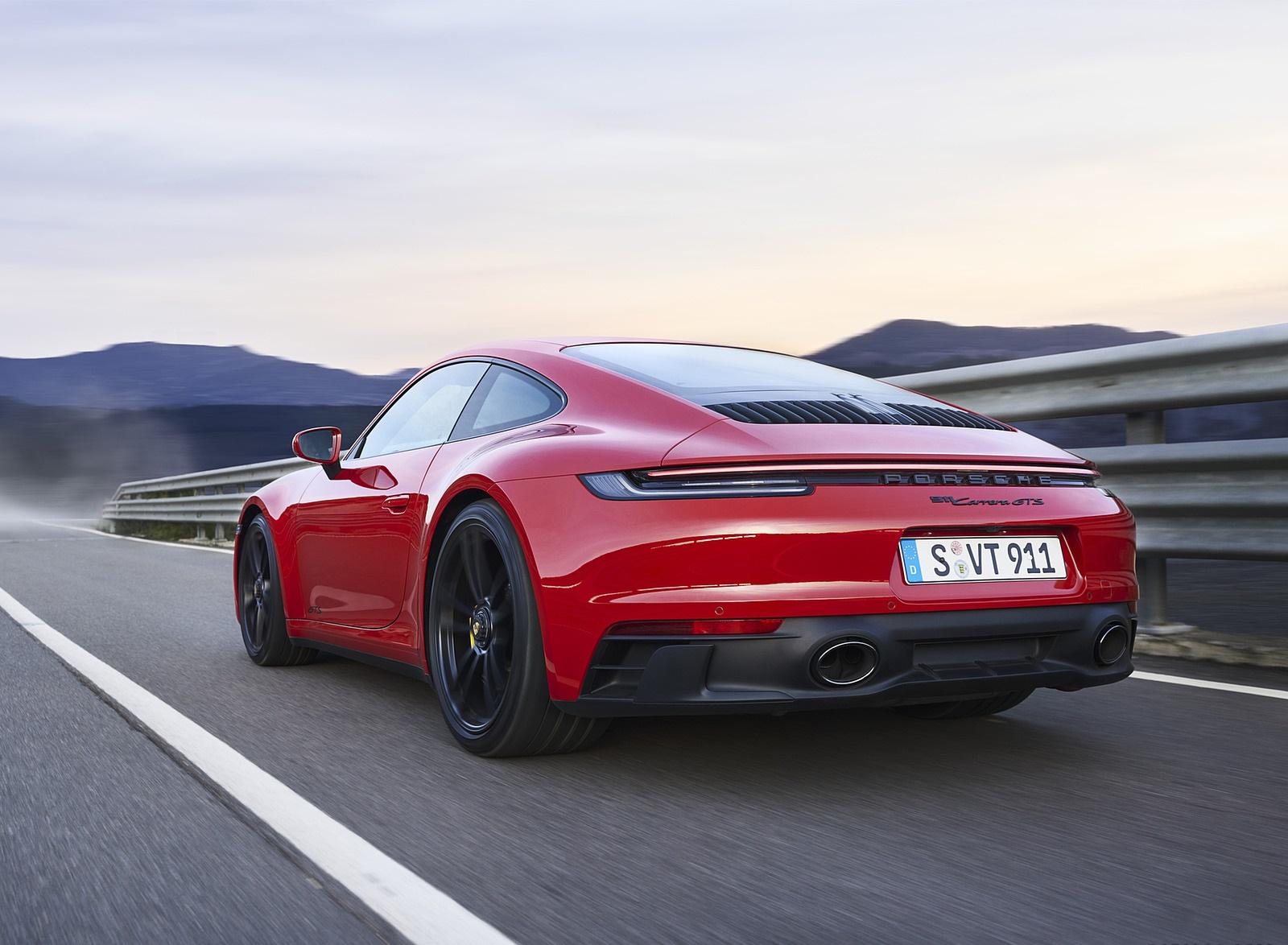 2022 Porsche 911 Carrera GTS Rear Three-Quarter Wallpapers (6)