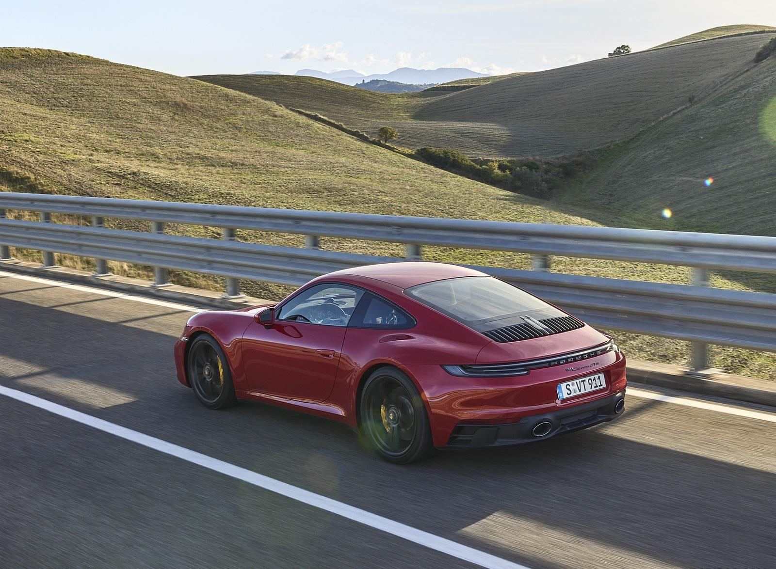 2022 Porsche 911 Carrera GTS Rear Three-Quarter Wallpapers (7)
