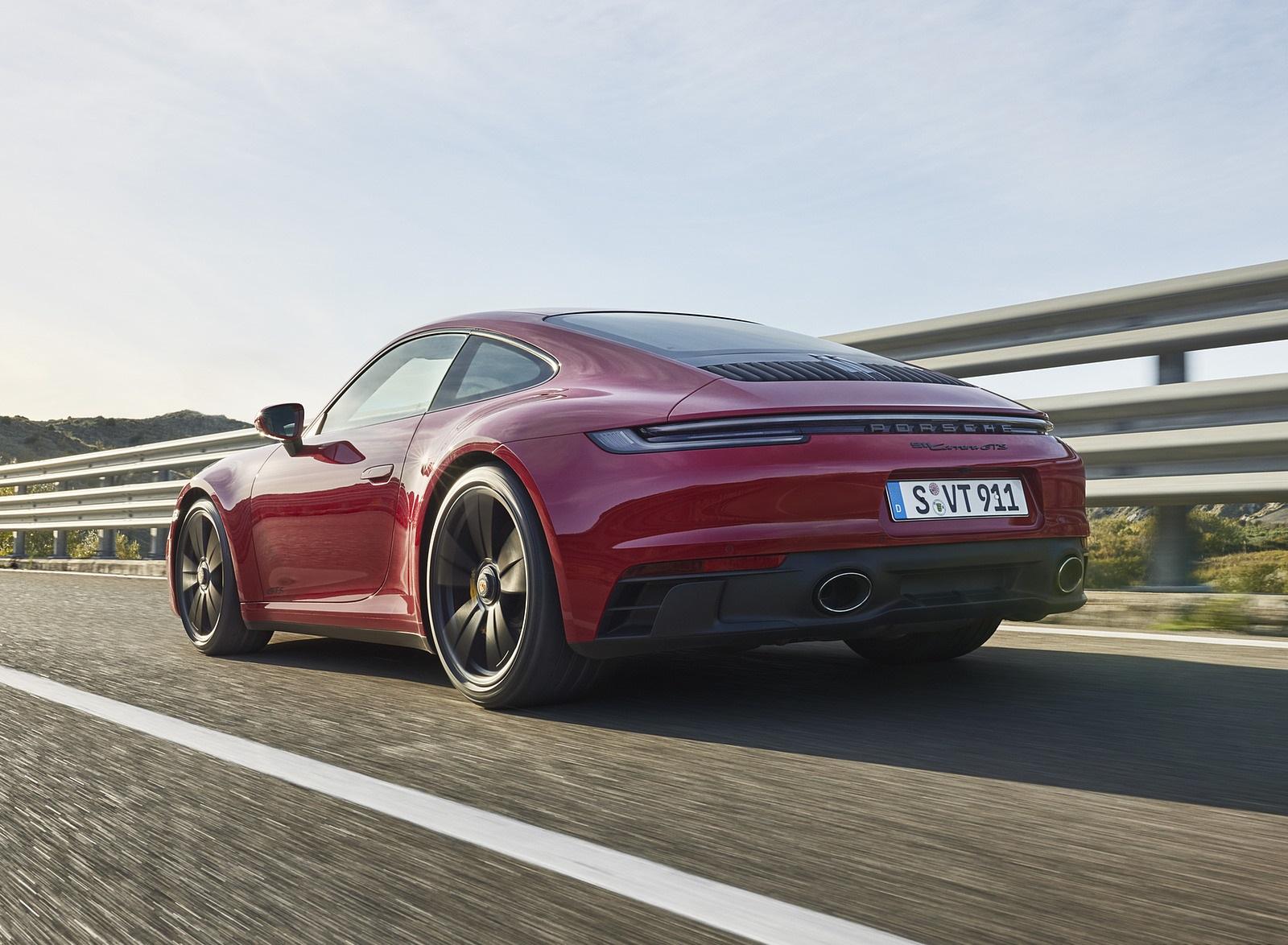 2022 Porsche 911 Carrera GTS Rear Three-Quarter Wallpapers (4)