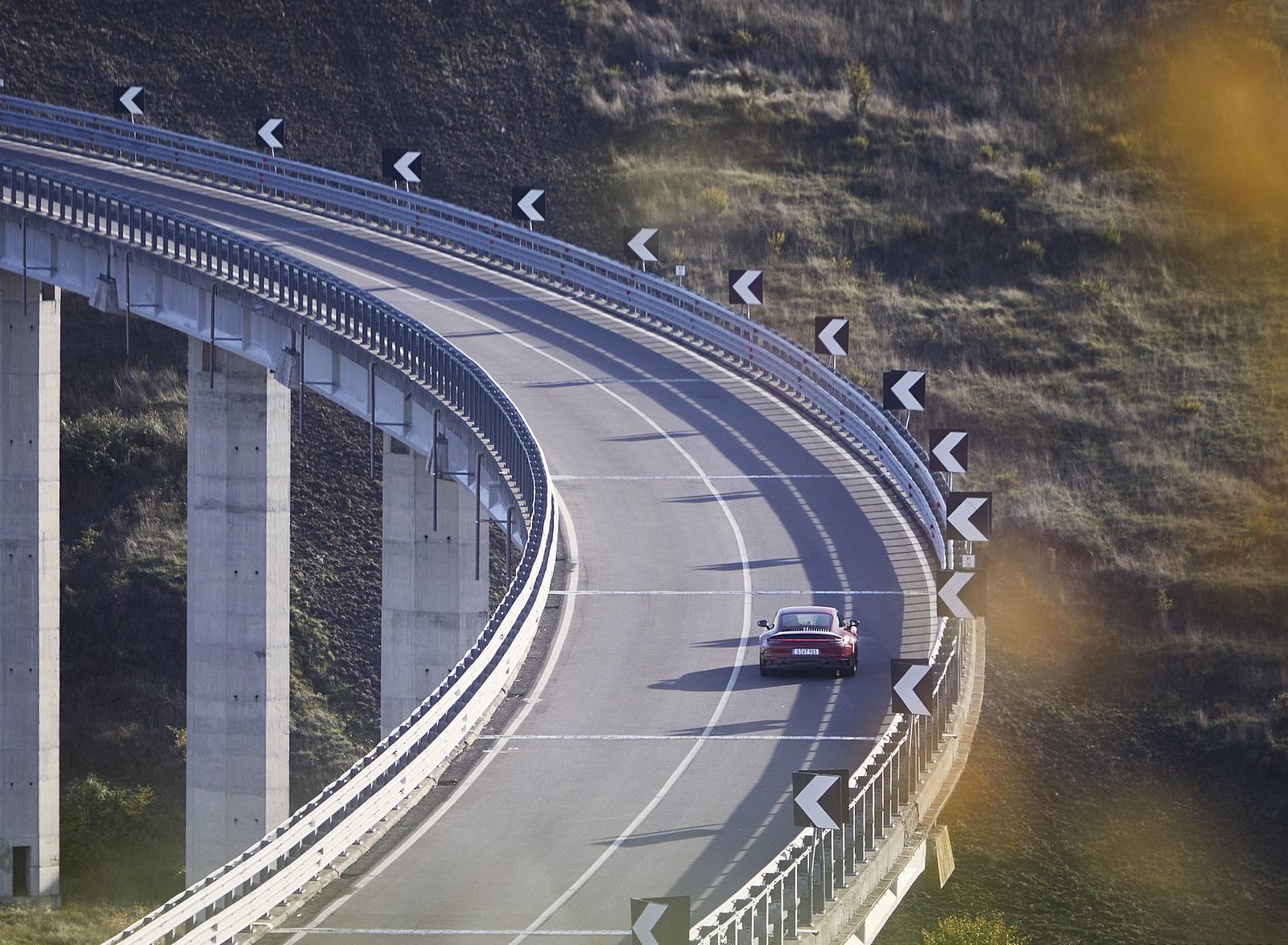 2022 Porsche 911 Carrera GTS Rear Wallpapers (9)