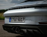 2022 Porsche 911 GT3 with Touring Package (PDK; Color: Dolomite Silver Metallic) Exhaust Wallpapers 150x120 (33)
