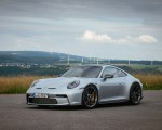 2022 Porsche 911 GT3 with Touring Package (PDK; Color: Dolomite Silver Metallic) Front Three-Quarter Wallpapers 150x120 (25)