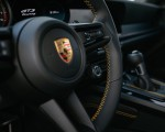2022 Porsche 911 GT3 with Touring Package (PDK; Color: Dolomite Silver Metallic) Interior Steering Wheel Wallpapers 150x120 (43)