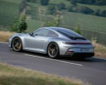 2022 Porsche 911 GT3 with Touring Package (PDK; Color: Dolomite Silver Metallic) Rear Three-Quarter Wallpapers 150x120 (14)