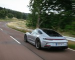 2022 Porsche 911 GT3 with Touring Package (PDK; Color: Dolomite Silver Metallic) Rear Three-Quarter Wallpapers 150x120 (13)