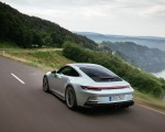 2022 Porsche 911 GT3 with Touring Package (PDK; Color: Dolomite Silver Metallic) Rear Three-Quarter Wallpapers 150x120 (15)
