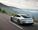 2022 Porsche 911 GT3 with Touring Package (PDK; Color: Dolomite Silver Metallic) Rear Three-Quarter Wallpapers 150x120 (12)