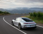 2022 Porsche 911 GT3 with Touring Package (PDK; Color: Dolomite Silver Metallic) Rear Three-Quarter Wallpapers 150x120 (16)