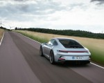 2022 Porsche 911 GT3 with Touring Package (PDK; Color: Dolomite Silver Metallic) Rear Three-Quarter Wallpapers 150x120 (11)
