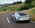 2022 Porsche 911 GT3 with Touring Package (PDK; Color: Dolomite Silver Metallic) Rear Three-Quarter Wallpapers 150x120 (10)