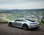 2022 Porsche 911 GT3 with Touring Package (PDK; Color: Dolomite Silver Metallic) Rear Three-Quarter Wallpapers 150x120 (23)
