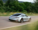2022 Porsche 911 GT3 with Touring Package (PDK; Color: Dolomite Silver Metallic) Rear Three-Quarter Wallpapers 150x120 (6)