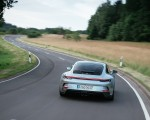 2022 Porsche 911 GT3 with Touring Package (PDK; Color: Dolomite Silver Metallic) Rear Wallpapers 150x120 (8)