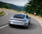 2022 Porsche 911 GT3 with Touring Package (PDK; Color: Dolomite Silver Metallic) Rear Wallpapers 150x120 (7)