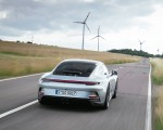 2022 Porsche 911 GT3 with Touring Package (PDK; Color: Dolomite Silver Metallic) Rear Wallpapers 150x120 (5)