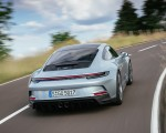 2022 Porsche 911 GT3 with Touring Package (PDK; Color: Dolomite Silver Metallic) Rear Wallpapers 150x120 (3)