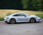 2022 Porsche 911 GT3 with Touring Package (PDK; Color: Dolomite Silver Metallic) Side Wallpapers 150x120 (2)