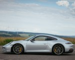 2022 Porsche 911 GT3 with Touring Package (PDK; Color: Dolomite Silver Metallic) Side Wallpapers 150x120 (29)