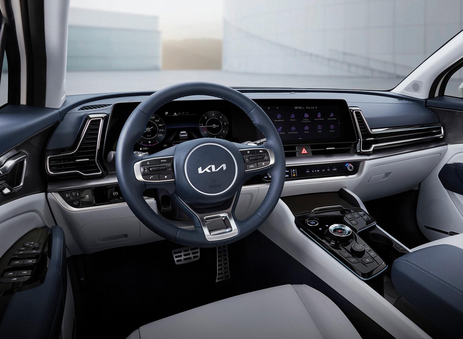 2023 Kia Sportage Interior Cockpit Wallpapers  (7)