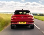 2021 Bentley Bentayga Plug-In Hybrid First Edition First Edition (Color: Dragon Red) Rear Wallpapers 150x120 (6)
