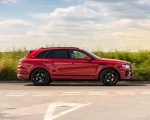 2021 Bentley Bentayga Plug-In Hybrid First Edition First Edition (Color: Dragon Red) Side Wallpapers 150x120 (7)