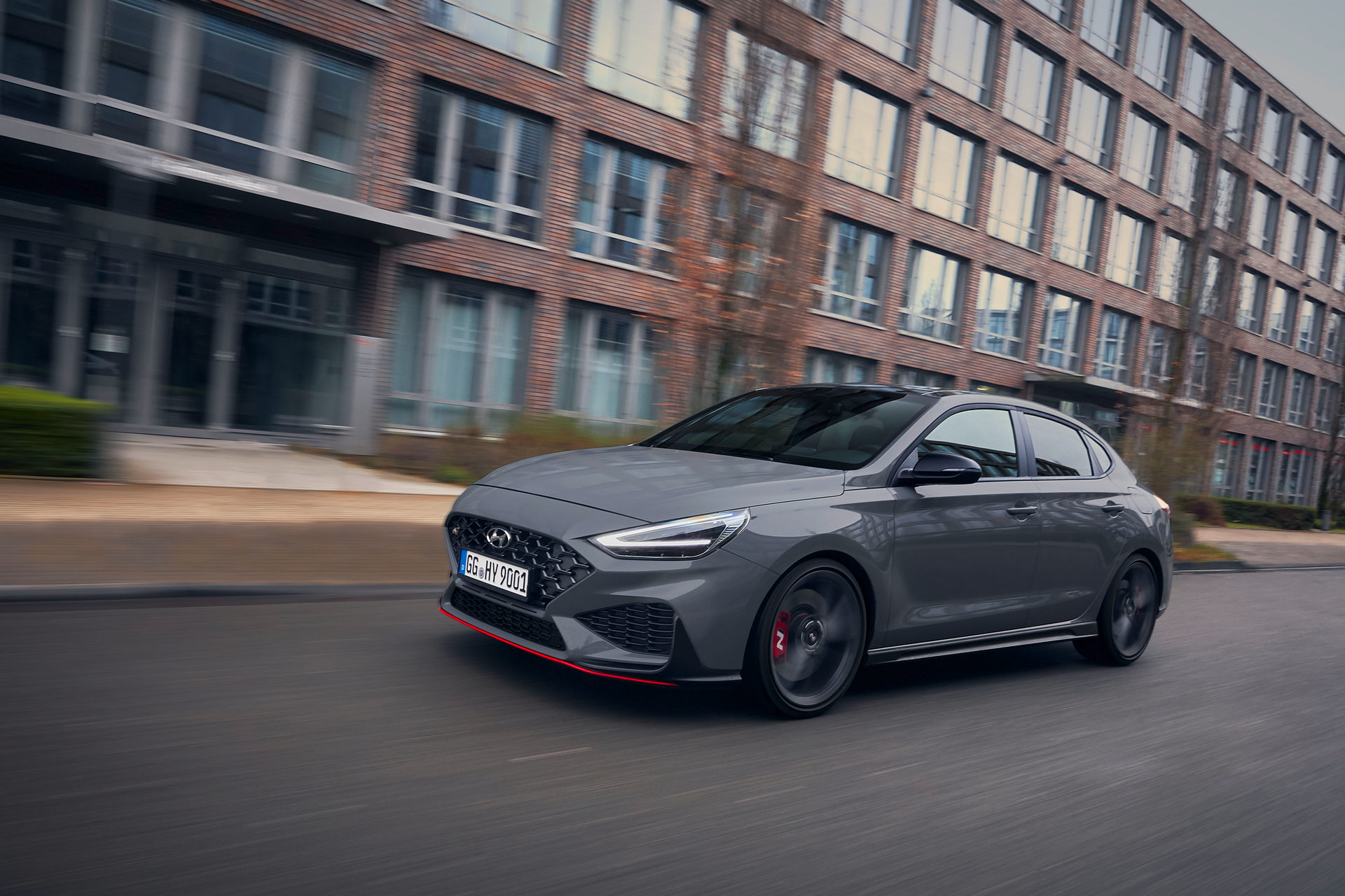 2021 Hyundai i30 Fastback N Limited Edition Front Three-Quarter Wallpapers (1)
