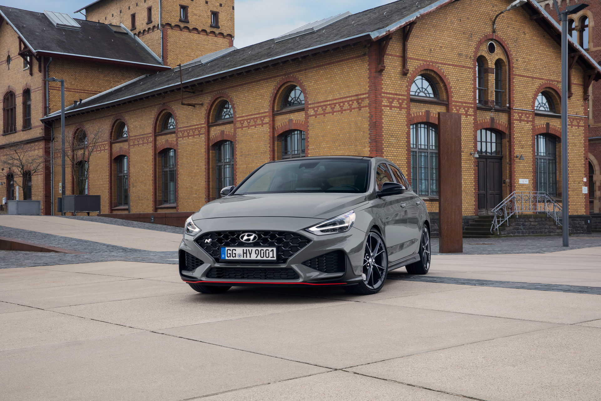 2021 Hyundai i30 Fastback N Limited Edition Front Wallpapers (6)