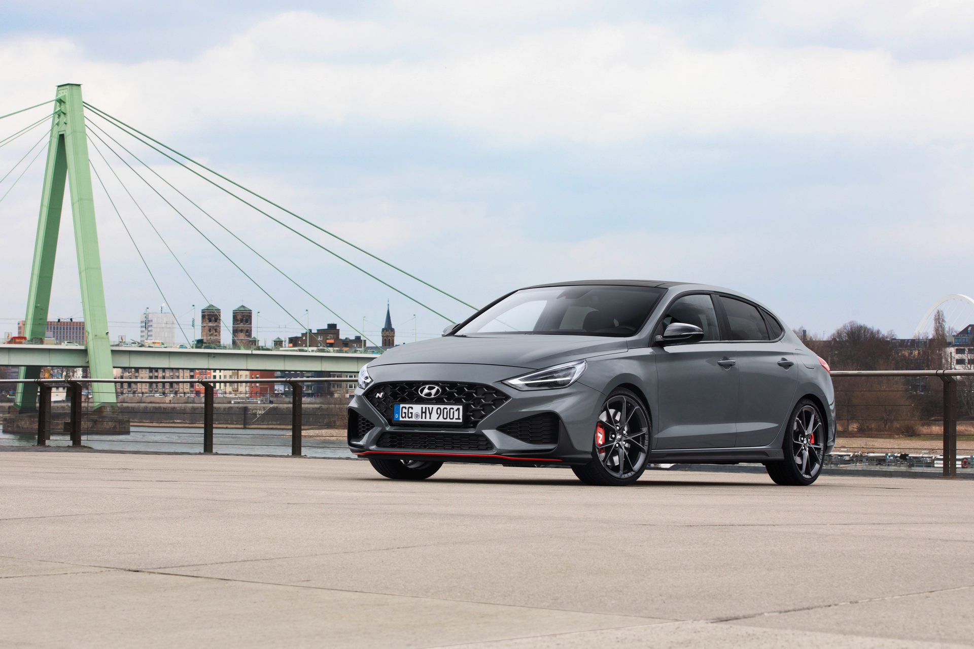 2021 Hyundai i30 Fastback N Limited Edition Front Wallpapers (10)