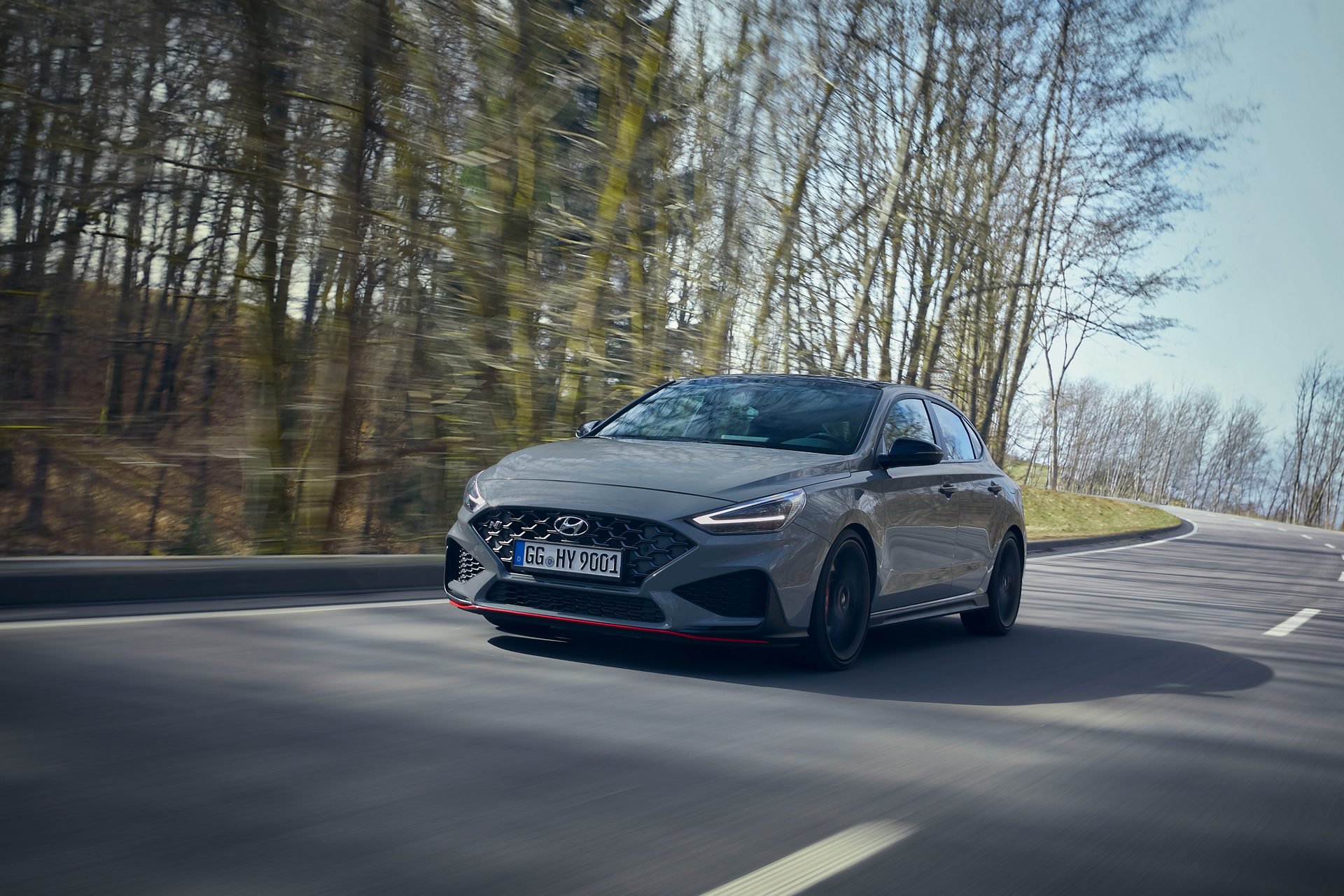 2021 Hyundai i30 Fastback N Limited Edition Front Wallpapers (3)