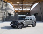 2021 Jeep Wrangler 4xe (Euro-Spec; Plug-In Hybrid) Front Three-Quarter Wallpapers 150x120 (14)